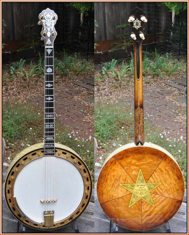 1931 Vega Vegavox IV Deluxe Tenor Banjo ... & Players Vintage Instruments