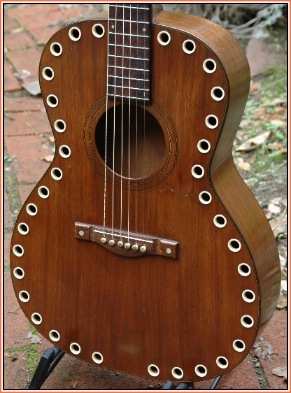 Leomaster Guitar Made For Paramount