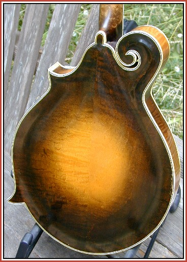 John Paganoni Mandolin Model B  8